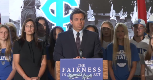 DeSantis signs bill banning transgender athletes from playing on certain teams into law