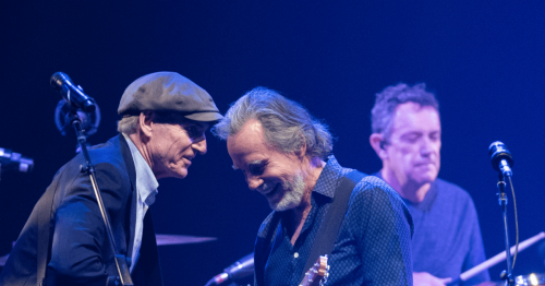 James Taylor and Jackson Browne, on joint tour, embraced by Taylor Swift, Phoebe Bridgers and new generation