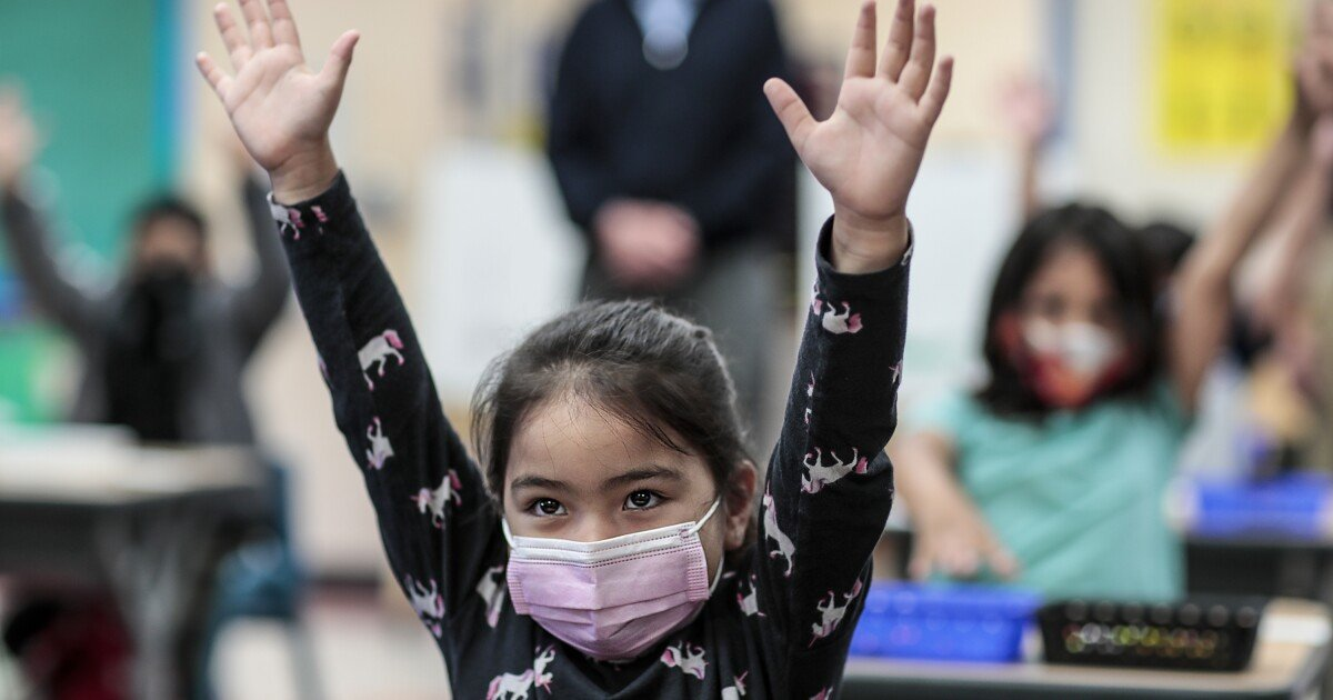 California to require masks at school, a cautious decision that treats all students the same
