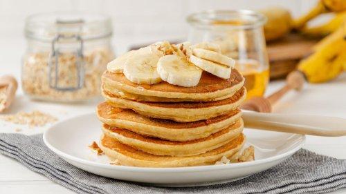 Bananen Pancakes: Low-Carb-Frühstück ohne Mehl und Zucker