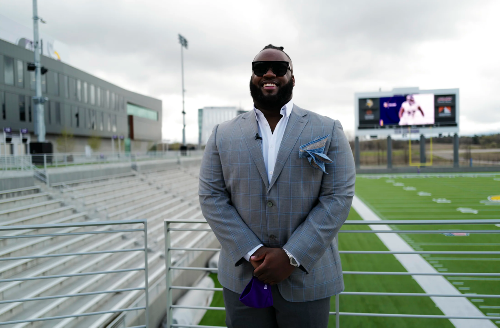 Coller: Michael Pierce is a breath of fresh air for the Vikings