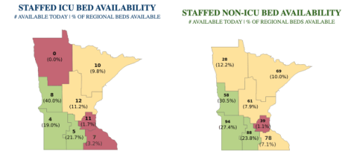 Minnesota's COVID-19 update for Tuesday, October 26