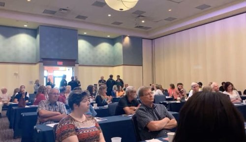 Police break up 'large disturbance' at anti-critical race theory conference in Moorhead