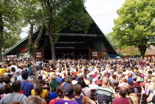 Here's the lineup for the free entertainment at this year's Minnesota State Fair