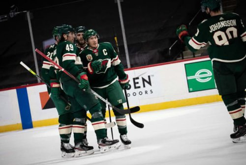Wild score 3 power play goals in win over Coyotes