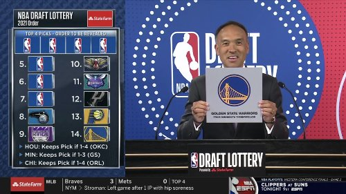 NOOOOO! Timberwolves get No. 7 draft pick, which goes to Golden State