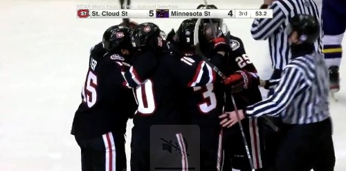 Nolan Walker's last-minute goal sends St. Cloud State to national championship game