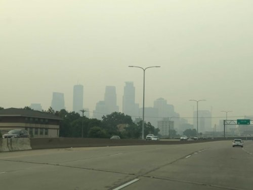 Where to expect wildfire smoke in Minnesota on Monday, Tuesday