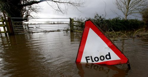 Serious flooding could hit part of Somerset, map shows