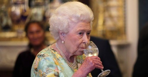 Queen gives up her afternoon tipples to watch TV with friend Mabel