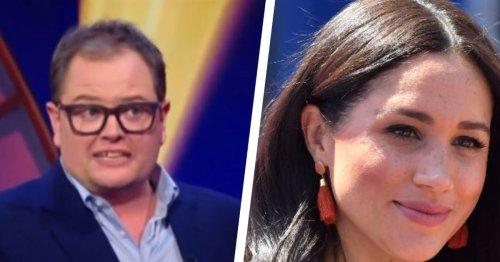 Alan Carr faces backlash over Meghan Markle joke on Epic Gameshow