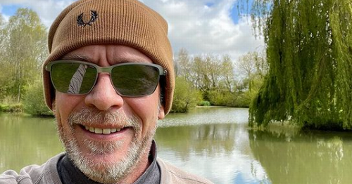 EastEnders star pictured enjoying the Somerset countryside