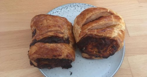 I tried the sausage rolls people queue out the door for