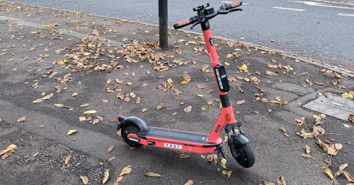 Warning to parents illegally hiring e-scooters for their children