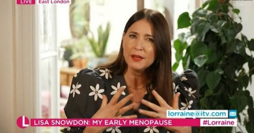 Lisa Snowdon speaks out on experiences with early menopause