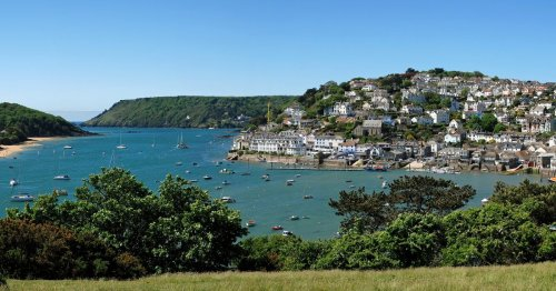 Salcombe is a 'place to be happy busily doing nothing'