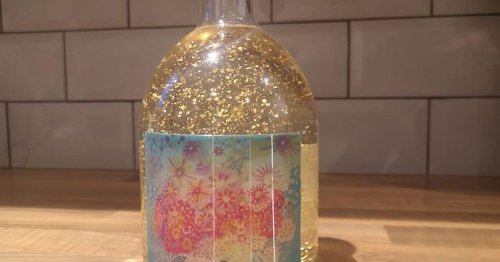 I tried M&S's sparkly cherry blossom gin and I will be rushing to buy more