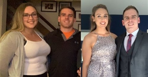 Bride-to-be overhauled her lifestyle and went from a size 20 to a 10