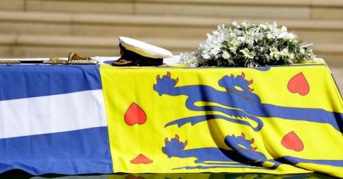 The meaning behind the flag draped over Duke's coffin