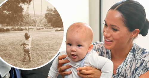 Harry and Meghan release new photo of two-year-old Archie