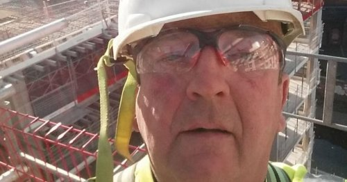 Builder outside Bristol Tesco 'inches from being cut to ribbons'