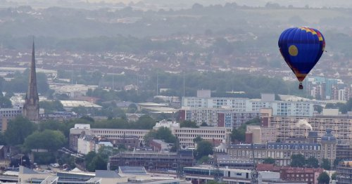 The areas where Bristol people are moving to the most