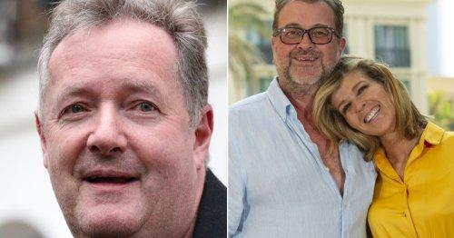 Piers Morgan issues tough update on Kate Garraway's husband Derek Draper