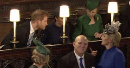 Zara Tindall's savage review of Princess Eugenie's wedding