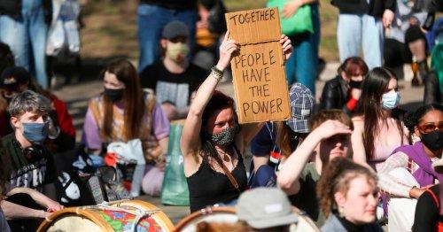 Kill the Bill protesters gather in Bristol