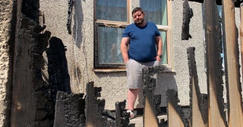 Bristol family 'raging' after 'deliberate' fire lit in garden as toddler slept