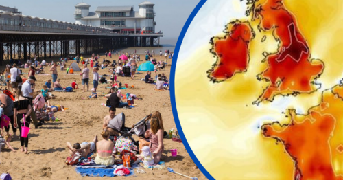 Britain faces July scorcher as heat maps turn red