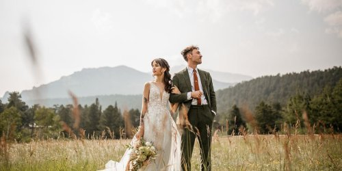 This Mountain Wedding Is A Nature Girl's Dream