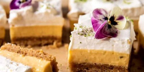 These Key Lime Pie Bars Are The Salty-Sweet Dessert We're Craving RN