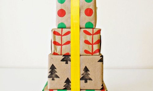 Wrap It Up! 18 Holiday Gift Wraps to DIY