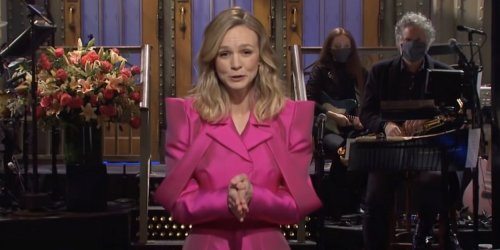 VIDEO: Carey Mulligan Hosts SATURDAY NIGHT LIVE; Watch Her Monologue!