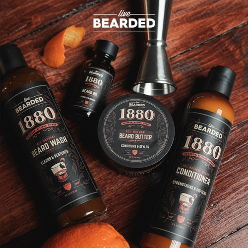 Live Bearded Is Dropping A New, Bourbon Citrus-Scented Line Of Beard Products TOMORROW