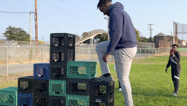 What Is The Milk Crate Challenge? Here's Your Guide To The Viral Trend Taking The Internet By Storm