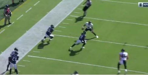 Lamar Jackson Crossed Up Eagles Defenders With Nasty Juke Move, Throws Absurd Touchdown Pass - BroBible