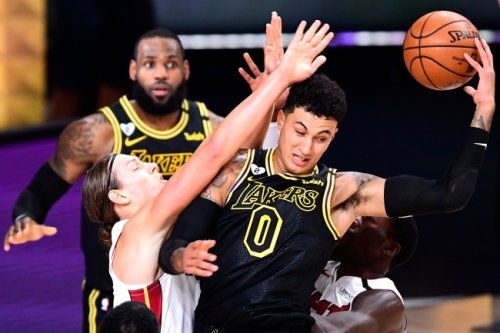 NBA fans start petition to prevent Kyle Kuzma from getting a ring if Lakers win