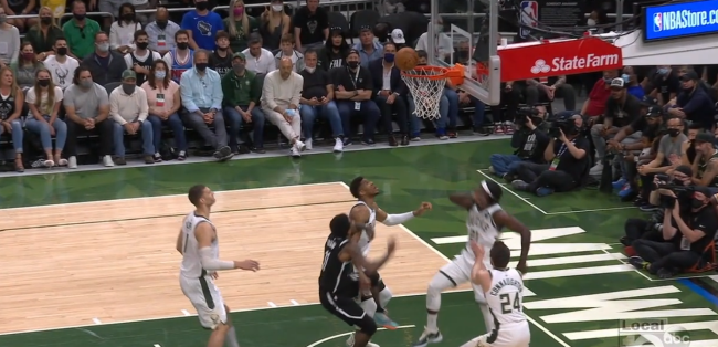 Fans Are Accusing Giannis Antetokounmpo Of Committing Dirty Play Against Kyrie Irving Which Led To Irving's Ankle Injury