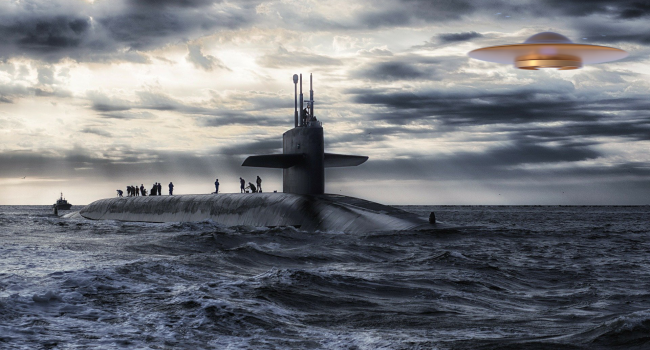 American Submarines Detect Unexplainable Crafts 'Moving At Hundreds Of Knots' Underwater
