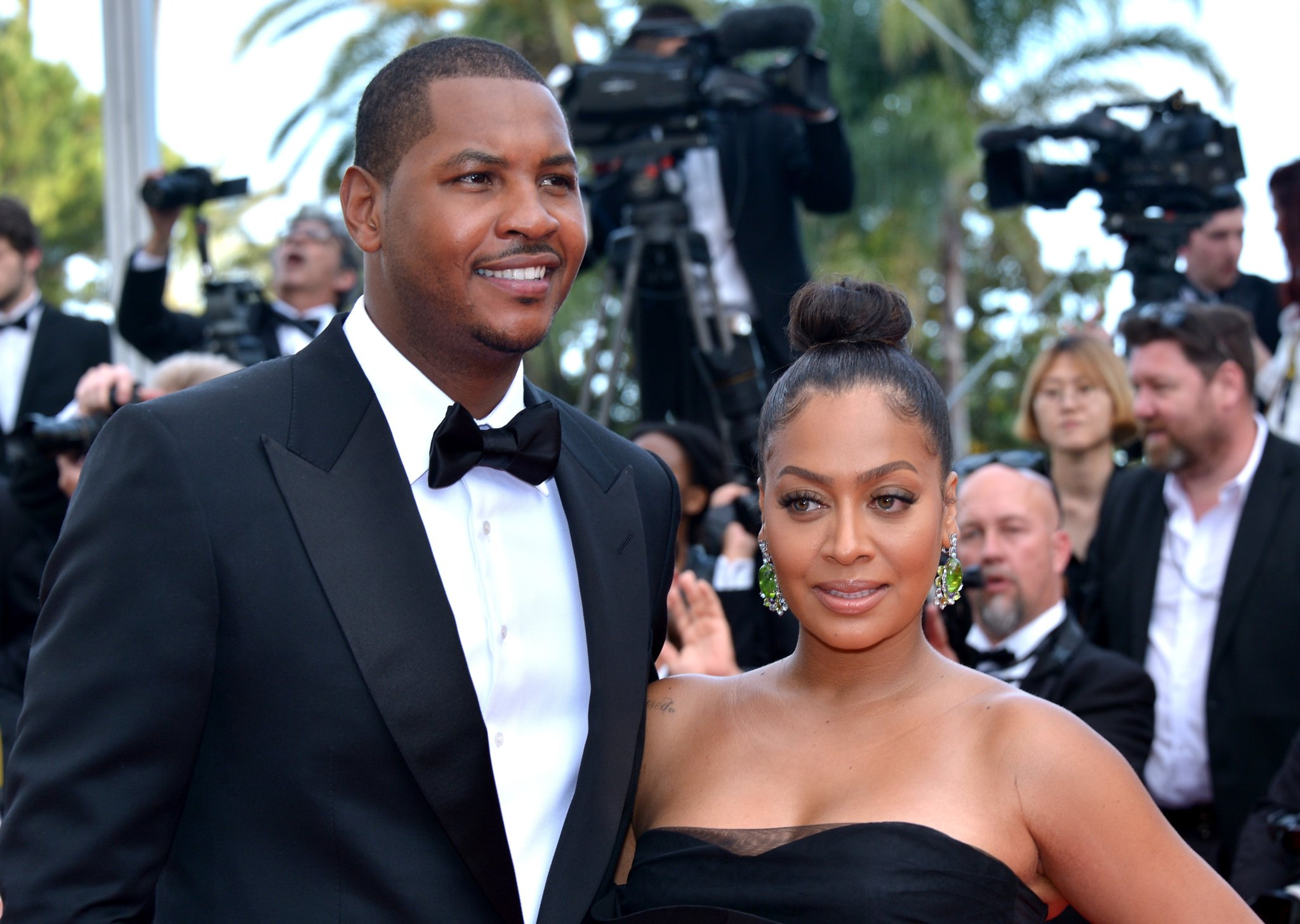 Lala had two pretty good reasons for divorcing Carmelo Anthony - cover