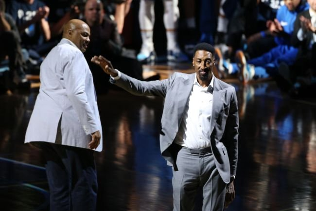 Scottie Pippen Refuses To Apologize To Charles Barkley For Calling Him 'Fat', Says He Isn't Scared Of Fighting Barkley