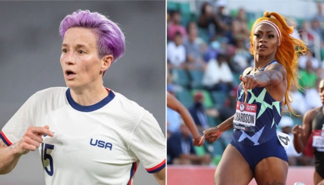 People Are Extremely Angry Megan Rapinoe Is Promoting Cannabis Product During Olympics After Sha'Carri Richardson Suspension