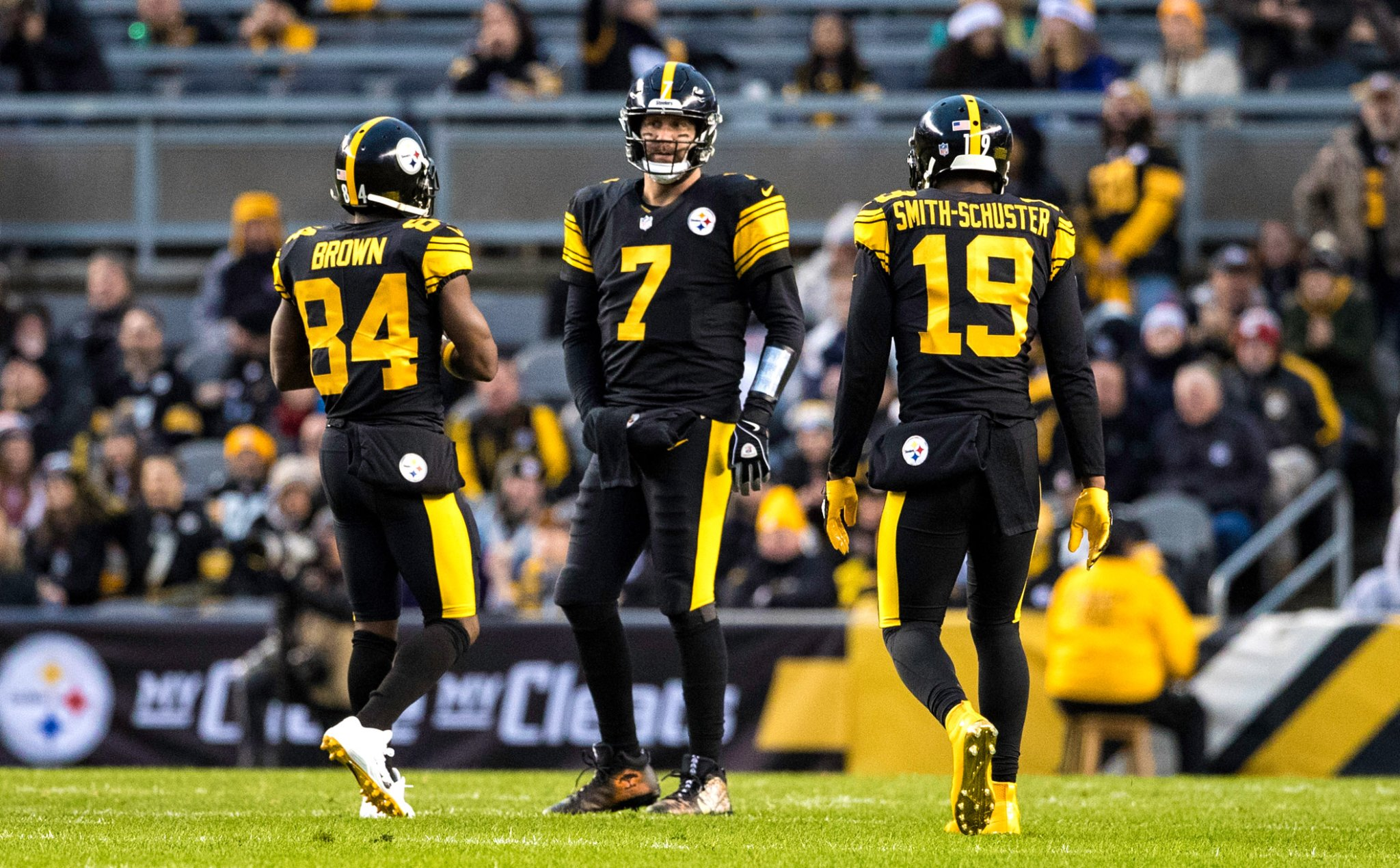 Ben Roethlisberger Shades Antonio Brown With Comment About Having Unselfish Wide Receivers - BroBible