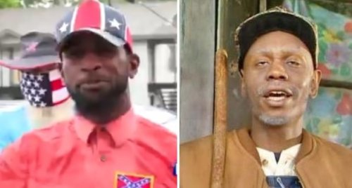 Black Man Defending The Confederate Flag In Viral Video Is Being Compared To 'Chappelle's Show' Character Clayton Bigsby