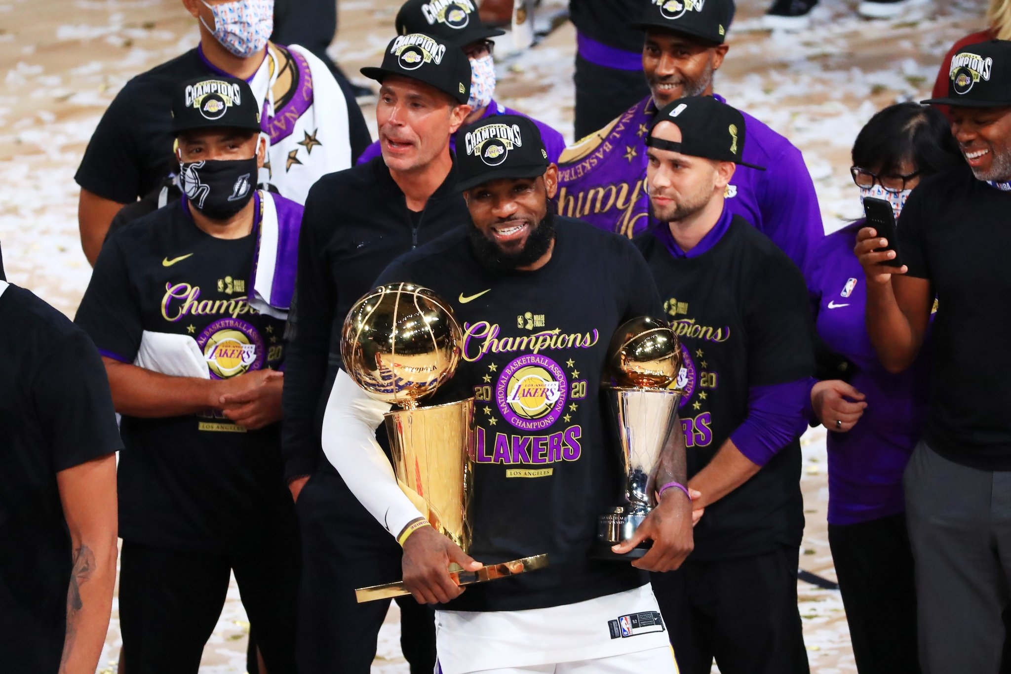 LeBron James Has A Message For Haters After The Lakers Win NBA Championship 'I Want My Damn Respect' - BroBible