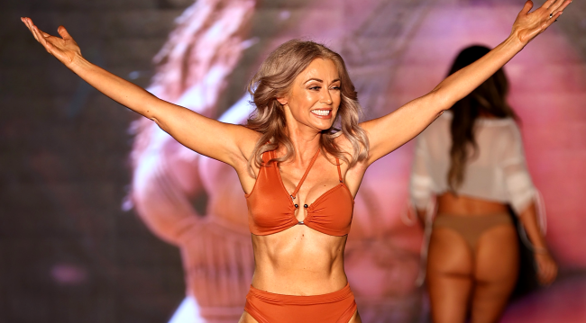 How this 57-year-old SI swimsuit model keeps going strong - cover
