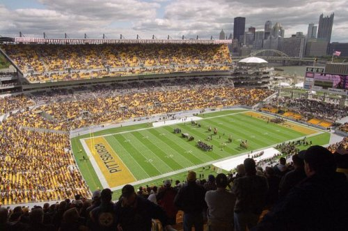 Viral Photo Shows Steelers Fan Washing His Pooped Pants In Heinz Field Bathroom During Game