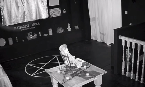 Britain's Most Haunted Doll Caught On Video Violently Moving And Rocking By Itself In A Chair